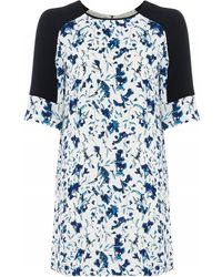 French connection Porcelain Sheen Dress - Lyst