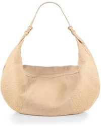 Mr. Cooper Bubble-Leather Hobo Bag - Lyst