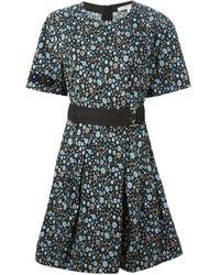 Marc Jacobs Floral Dress - Lyst