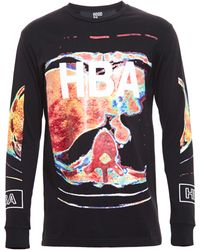 Hood By Air Brain Scan Jersey Long Sleeve Tshirt - Lyst