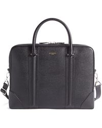 Givenchy - Saffiano Leather Briefcase - Lyst