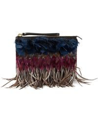 Marni Feather Clutch - Lyst