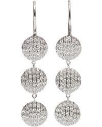 Dana Rebecca - Lauren Joy Diamond Drop Earrings - Lyst