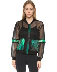 We Are Handsome - The Kinabalu Active Mesh Bomber - Lyst