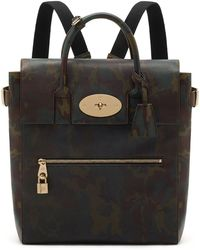 Mulberry Large Cara Delevingne Camo Bag in Khaki Large Cara Delevingne Camo Bag in Khaki - Lyst