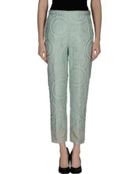 Ermanno Scervino Casual Pants - Lyst