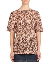Givenchy | Jaguar-print Cotton Tee | Lyst