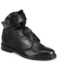 Puma By Miharayasuhiro Leather High-Top Boots - Lyst