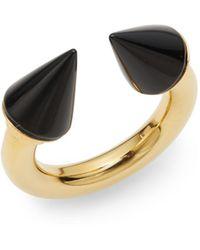 Vita Fede - Titan Onyx Ring/goldtone - Lyst