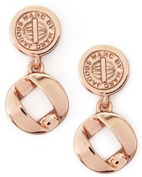 Marc By Marc Jacobs - Cable Link-drop Earrings - Lyst