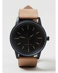 TOPMAN - Brown And Black Dial Watch* - Lyst
