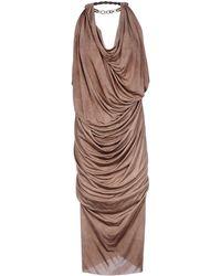 Lanvin | 3/4 Length Dress | Lyst