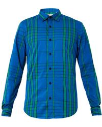Burberry Brit Willbourne Graphiccheck Cotton Shirt - Lyst