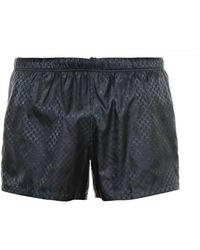 Gucci Logo-print Swim Shorts - Lyst