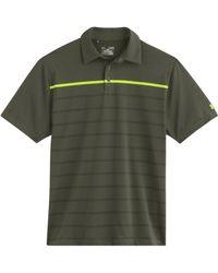 Under Armour Gimme Stripe Polo Shirt - Lyst