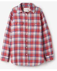 R13 Oversized Boy Shirt - Lyst