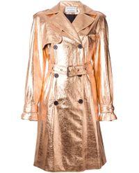 Wanda Nylon X Tom Greyhound Metallic Trench Coat - Lyst