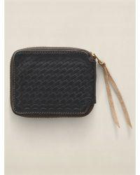 Ralph Lauren Two-Toned Zip Wallet - Lyst