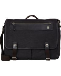 Tumi - Forge Fairview Messenger Bag-Black - Lyst