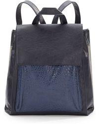 Saks Fifth Avenue - Jefferson Faux Leather Backpack - Lyst