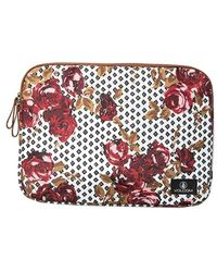 Volcom - 'on The Run' Floral Print Laptop Case - Lyst