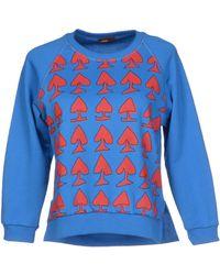 Peter Jensen Sweatshirt blue - Lyst