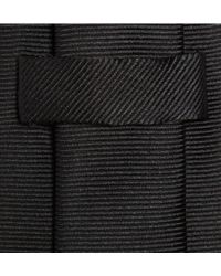 Turnbull & Asser Ribbed Silk Tie - Lyst