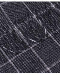Jules B - Tartan Wool Scarf - Lyst