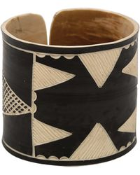 The Base Project Herero Headdress Bracelet black - Lyst