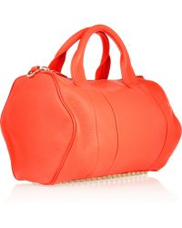 Alexander Wang Rocco Textured-leather Tote - Lyst