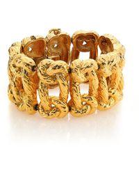 House of Lavande - 1950s Vintage Joseph Mazer Link Bracelet - Lyst