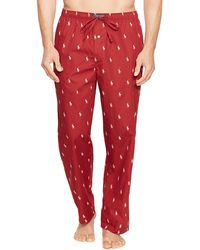 Pink Pony - Polo Pony Print Woven Pajama Pants - Lyst