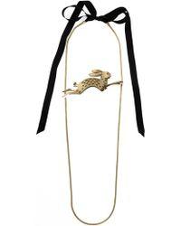 Lanvin Rabbit Necklace - Lyst