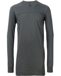 DRKSHDW by Rick Owens Long Sleeve T-shirt - Lyst