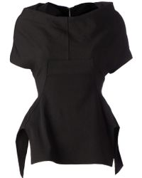 Rick Owens Structured Top - Lyst