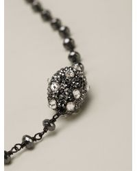 Roni Blanshay - Beaded Necklace - Lyst