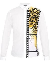 McQ by Alexander McQueen Swallows On Film-print Shirt - Lyst