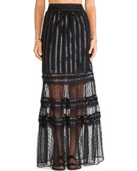 Alice By Temperley Long Misty Skirt - Lyst