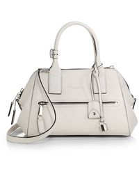 Marc Jacobs Small Textured Leather Incognito Satchel - Lyst