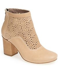 Latitude Femme - 'sahara' Cutout Shaft Leather Boot - Lyst