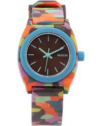Nixon Small Time Teller Watch - Lyst