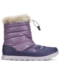 The North Face Womens Thermoball Micro Baffle Booties - Lyst