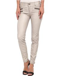 Free People Stretch Vegan Skinny Pant - Lyst