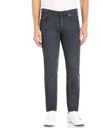 Acne Studios Charcoal Ace Mid-Rise Skinny Cigarette Leg Jeans - Lyst
