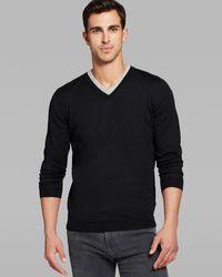 Hugo Boss Boss Melba V-Neck Sweater - Lyst