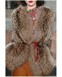 Blugirl Blumarine | Fur Vest | Lyst