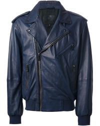 McQ by Alexander McQueen Biker Jacket - Lyst