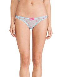 Agent Provocateur Tabita Thong - Lyst