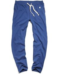 Todd Snyder X Champion   Classic Sweatpant In Washed Royal Blue   Lyst