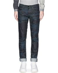 J Brand 'Tyler' Camo Wave Print Jeans gray - Lyst